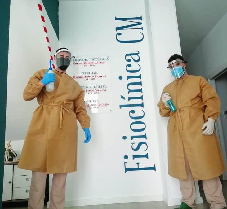 Nuestra clínica en tiempos de COVID-19